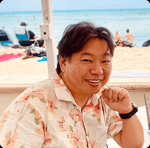 ハワイJ1プロデューサー 覚田 義明